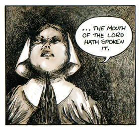 BOSTON COMICS Roundtable » The Trial of Anne Hutchinson