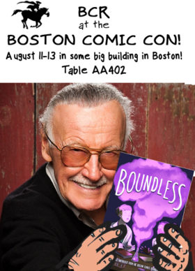 BCR at BCC stan lee